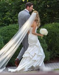 Celebrity Wedding Dresses The 5 Most Breathtaking Celebrity Wedding Dresses Of 2013 Glamour