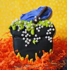 Sugar Cookie Halloween by Worth Pinning Cauldron Cookies