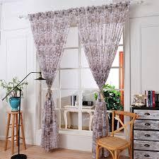 home decor drop shipping lovely pet hot new 100x270cm newspaper print tulle door window