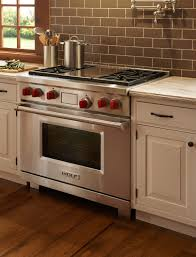 Wolf Kitchen Cabinets Wolf Commercial Range Home Appliances Decoration