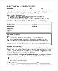 8 loan confirmation forms free sample example format download