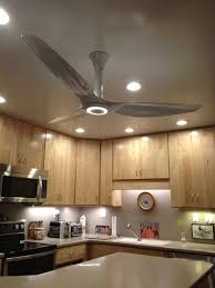 Kitchen Fan Light Fixtures Haiku Ceiling Fan In White Matrix Composite With Led Lighting
