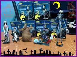 unboxing the nightmare before figures the