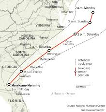 Map Florida Panhandle by Tropical Storm Hermine Batters Georgia Forecasters Warn Of U0027life