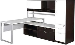 L Shape Desks Modern L Shaped Desks With Side Storage Liquidators