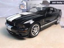 2007 Mustang Gt Black 2007 Shelby Gt 500 Franklin Mint Collectible Mustang 25 500