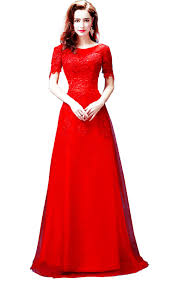 red lace bridesmaid dress party dress cocktail dress set evening