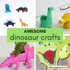 crafts boys 37 awesome dinosaur crafts kids