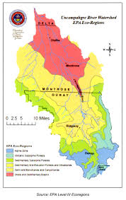 Colorado Snowpack Map Climate In The Uncompahgre Watershed Uncompahgre Watershed