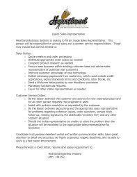 sales representative resume examples multimedia sales