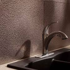 fasade backsplash hammered in brushed nickel backsplash ideas
