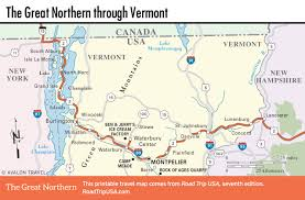 Great Loop Map The Great Northern Route Us 2 Road Trip Usa