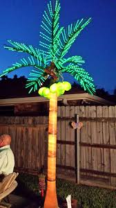 palm tree lights air effects sky tracker of new orleans