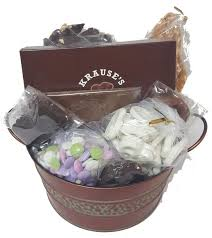mishloach manot baskets gift baskets krause s chocolates