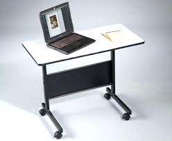 Mobile Computer Desk Movable Computer Desk Topic Related To Remarkable Movable Computer
