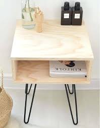 Unfinished Furniture Nightstand Side Table Raw Wood Side Table Unfinished Wood Side Table Raw