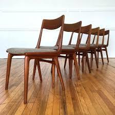 danish teak dining chairs furniture modern room table gunfodder com