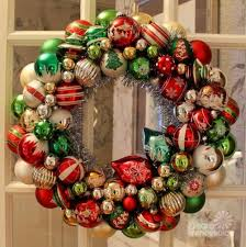 ornament wreaths made from new ornaments i shop target