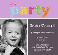 best photos of 4th birthday invitation wording samples 3 year