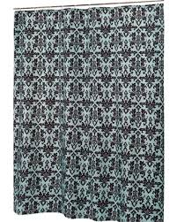 Blue Damask Shower Curtain New Savings On Damask Fabric Shower Curtain In Chocolate Blue