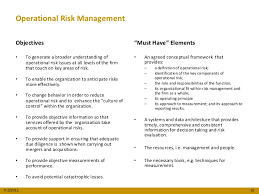 june event operational risk management it career