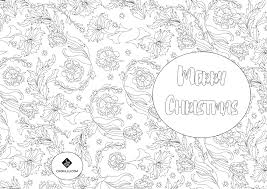 3 christmas colouring cards u2014 cookillu