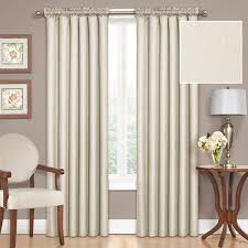 Brown And Ivory Curtains Eclipse Samara Blackout Energy Efficient Thermal Curtain Panel