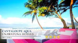 Hotel Flower Garden Unawatuna by Cantaloupe Aqua Unawatuna Hotels Sri Lanka Youtube