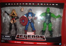 captain america shield light target marvel legends target three pack released radioactive man marvel