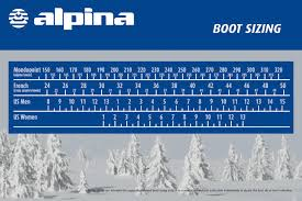 womens size 11 in ski boots alpina x5 ski boot ski boots erik s