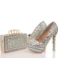 wedding shoes designer 2017 new designer ab wedding shoes with matching bag