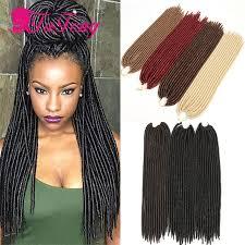 best hair for faux locs faux locs crochet hair 18 inch dreadlock extensions black curly