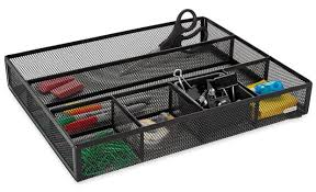 Desk Compartments Mesh Drawer Organizer Cubicle Decor Zone
