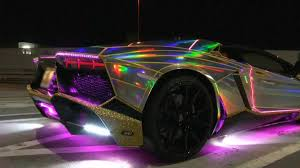 Lamborghini Aventador Neon - barcroft cars barcroftcars twitter