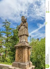 Bamberg Germany Map by Bamberg Germany Statue Of St John Of Nepomuk On The Upper