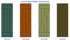 board n batten shutters pvc pair i elite trimworks