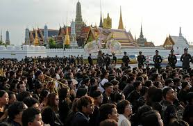 thailand begins long elaborate funeral process for king wsj