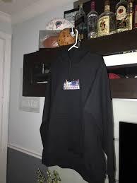 the basement hidden lab box logo hoodie size l sweatshirts
