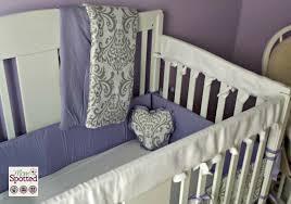 Jojo Crib Bedding Set Lavender And Gray Elizabeth Baby Bedding 9pc Crib Set By Sweet