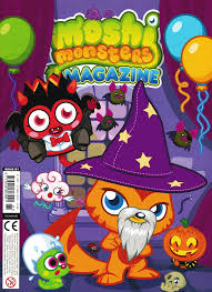 Moshi Monsters Halloween by Moshi Monsters Magazine Issue 61 Moshi Monsters Wiki Fandom