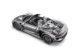 porsche supercar black porsche 918 spyder hybrid has 1 million price tag frankfurt