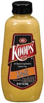 koops mustard koops mustard sqz spicybrownn 12 oz grocery