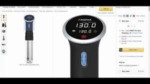 anova precision cooker wifi 2nd gen 900 watts youtube