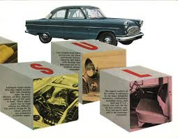 blue oval imports 1950s 1960s british ford anglia consul