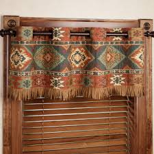 canyon ridge grommet valance valance southwest decor and house