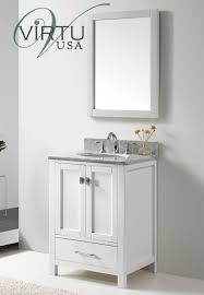 Bathroom Single Vanity by Caroline Avenue 24 Inch Contemporary Bathroom Vanity Bathroom