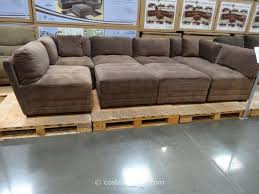 Sofa Sectionals Costco Marks And Cohen Hayden 8 Modular Fabric Sectional Costco 7