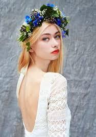 robe de mariã e bohã me snow white flowers by kirsty flower crown slr photography