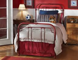 gorgeous design ideas red twin bed frame furniture outlet twin red