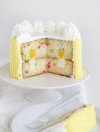 candle birthday cake surprise inside cake i am baker
